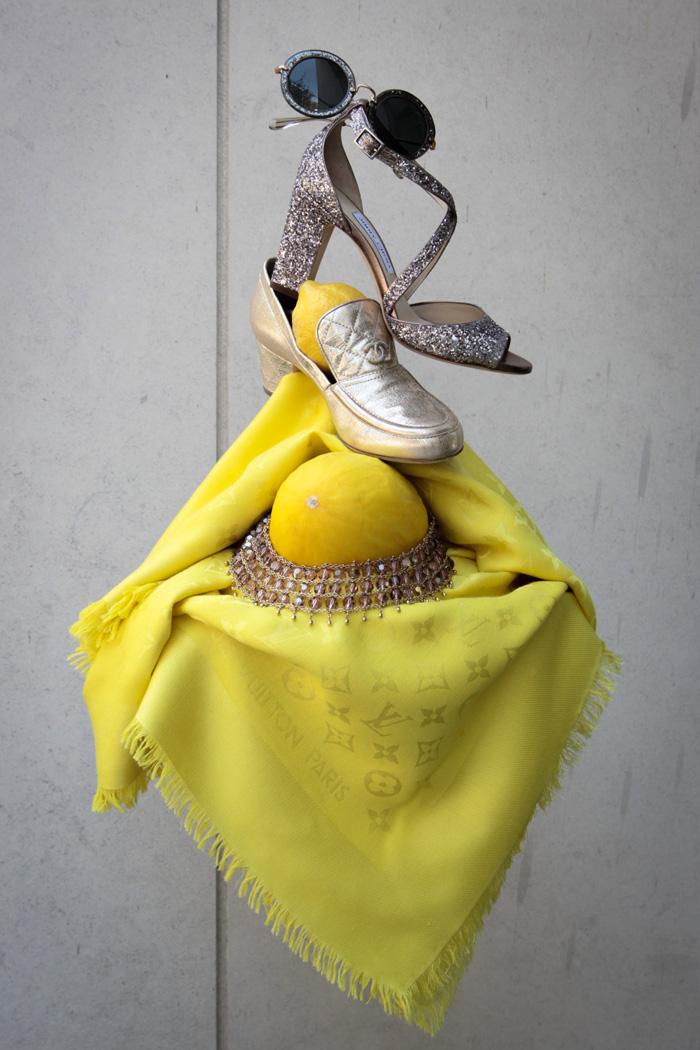 Accessoires de Luxe - Louis Vuitton Tuch
