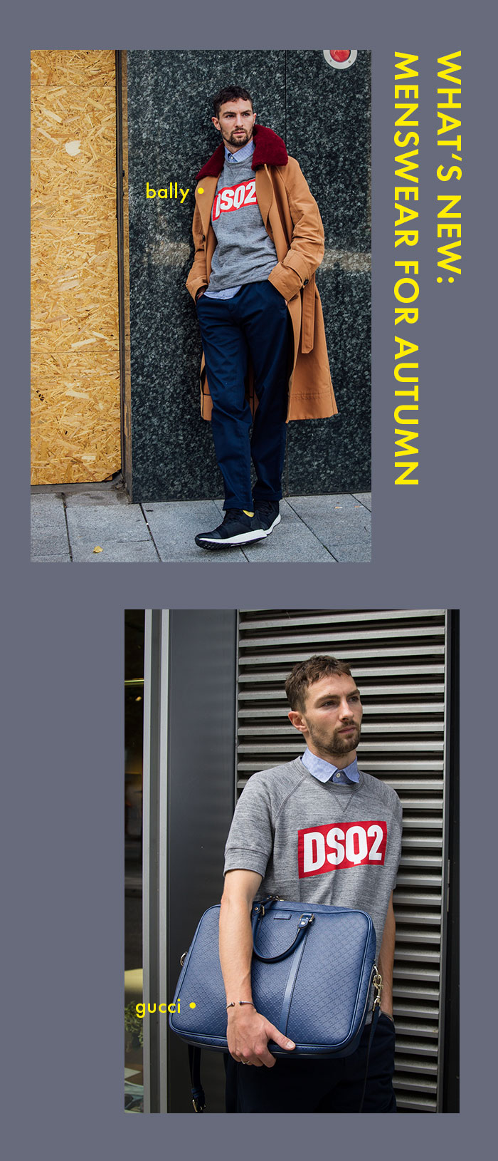 What's new: Menswear for Autumn