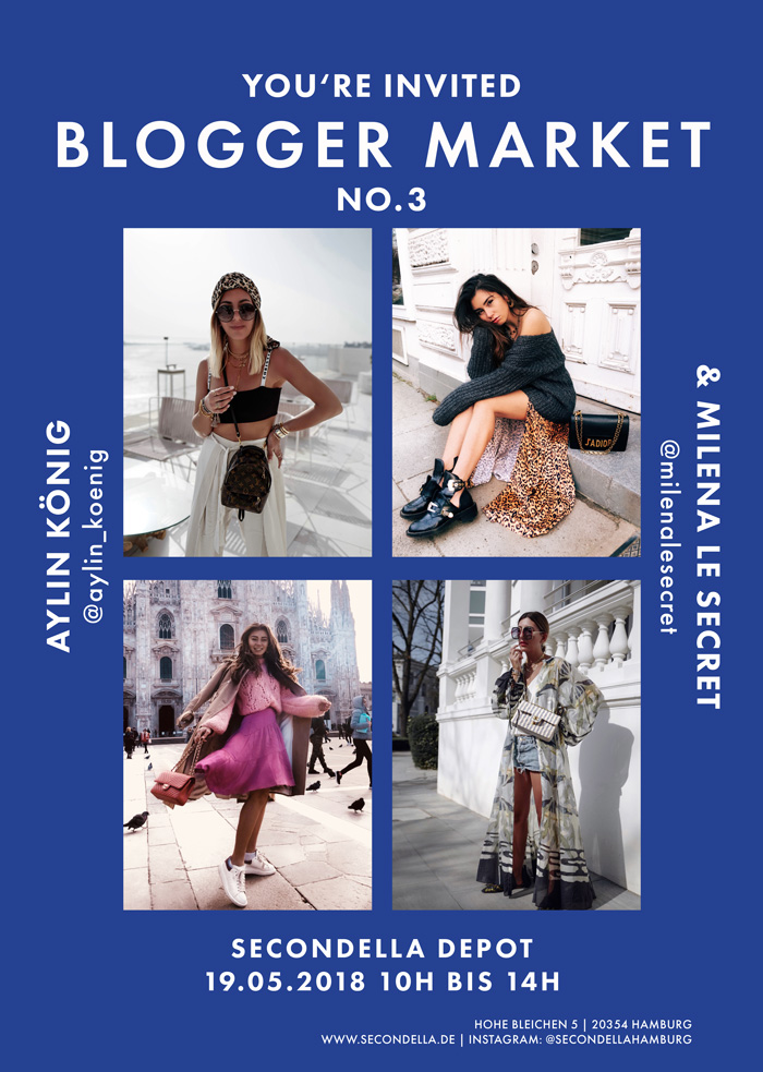 Blogger Market No.3 - mit Aylin König & Milena Le Secret