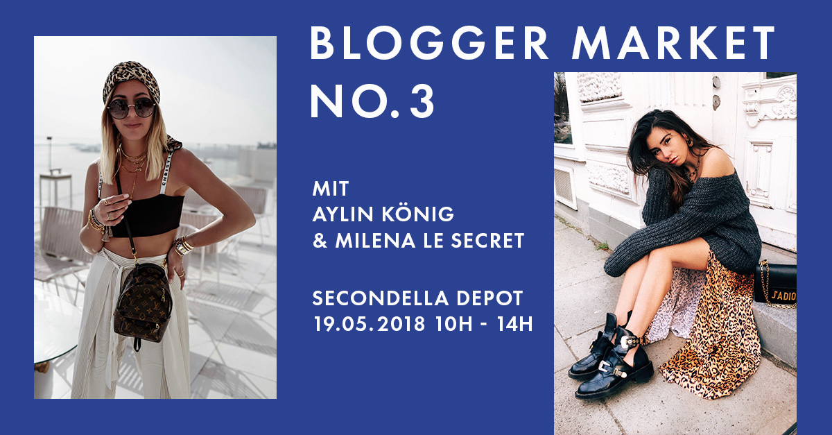 secondella blogger market no 3 mit aylin k nig milena le secret. Black Bedroom Furniture Sets. Home Design Ideas