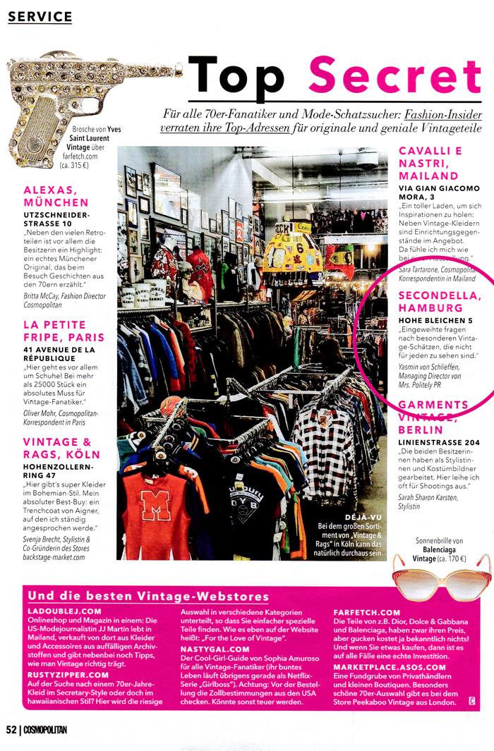 Cosmopolitan - August 2017