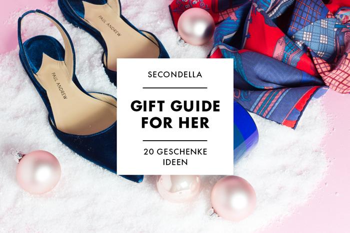 Geschenke-Guide für Sie 2017 - 20 Geschenk Ideen für Sie