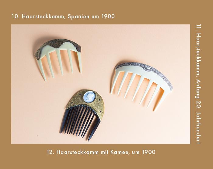 Haarsteckkämme aus dem 19. & 20. Jahrhundert