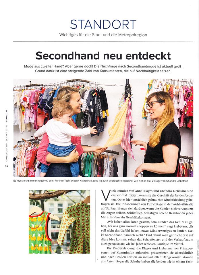 Hamburger Wirtschaft 07/2016