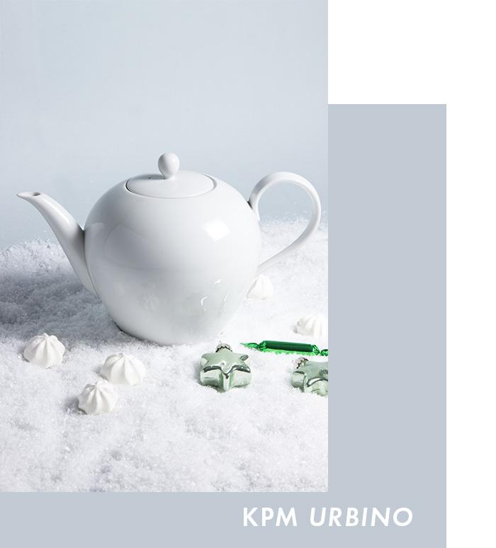 Exklusives Service - KPM Urbino Teekanne