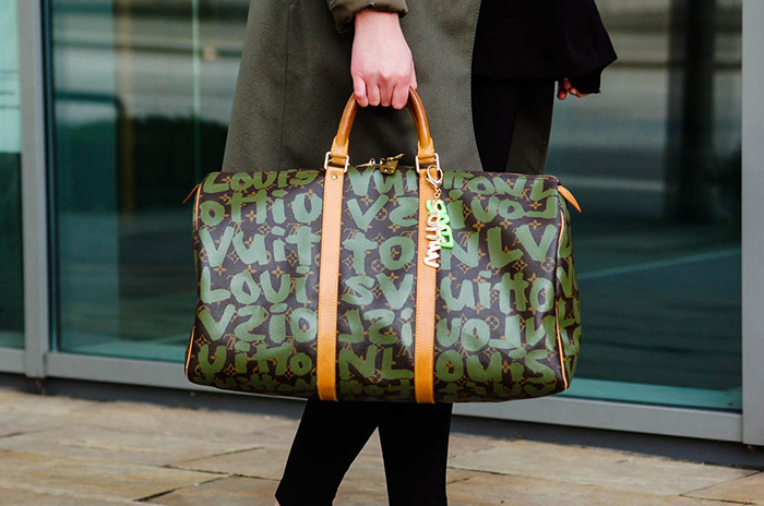 LV x Stephen Sprouse Keepall