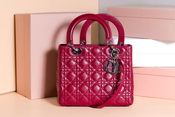 New Accessories - Lady Dior Bordeaux- Second Hand