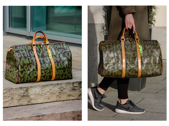 Louis Vuitton x Stephen Sprouse Keepall