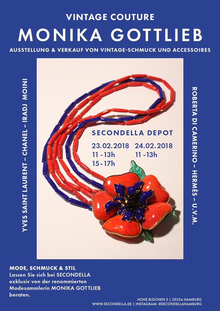 Vintage Couture - Monika Gottlieb zu Gast bei SECONDELLA