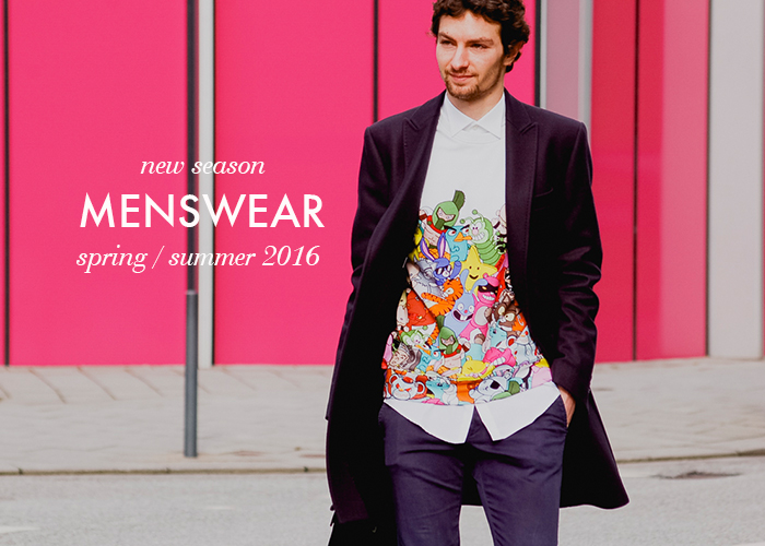 New Menswear Spring 2016