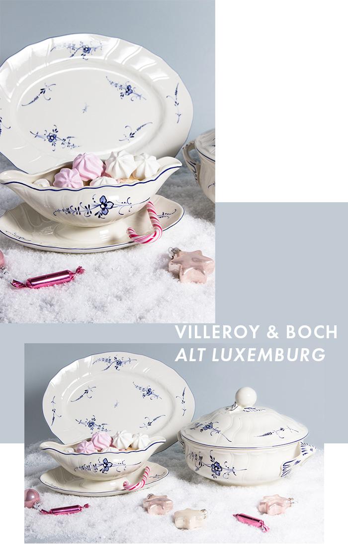 Exklusives Service - Villeroy & Boch Alt Luxemburg Sauciere, Suppenterrine