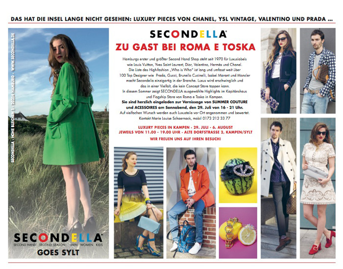 Secondella Pop-Up-Store Sylt-Life