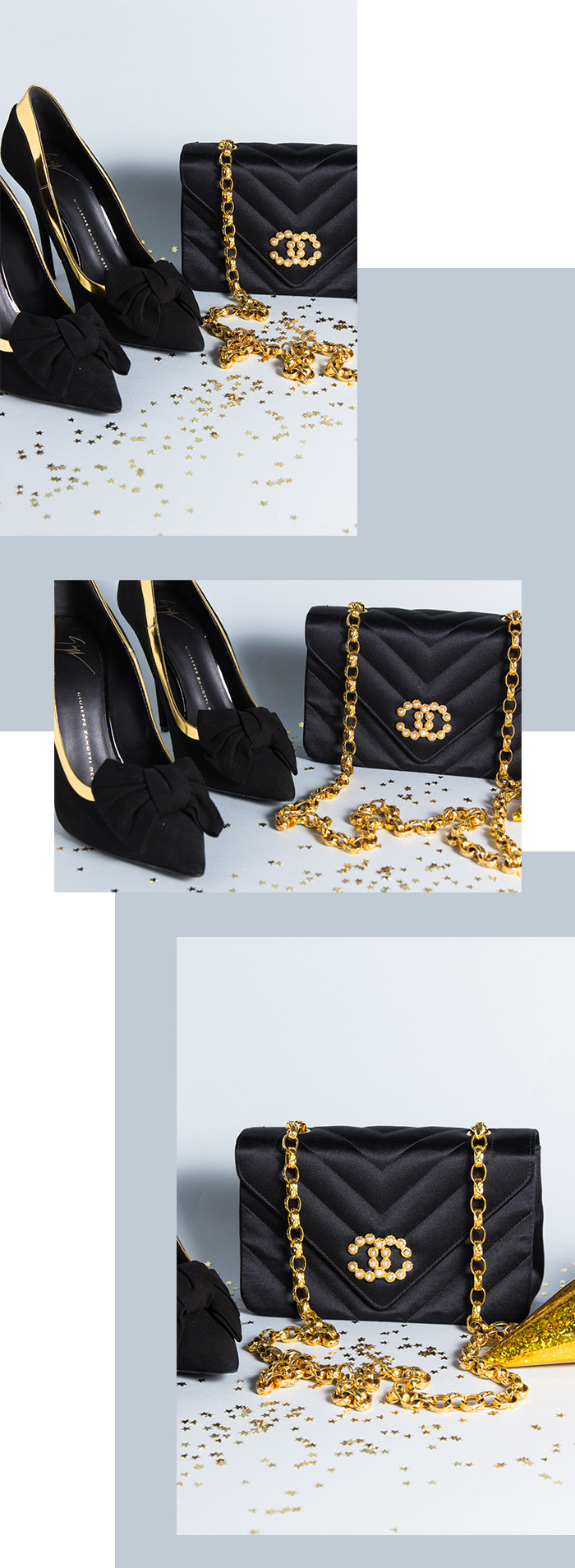 Party-Time - Accessoires - Silvester 2017 Chanel