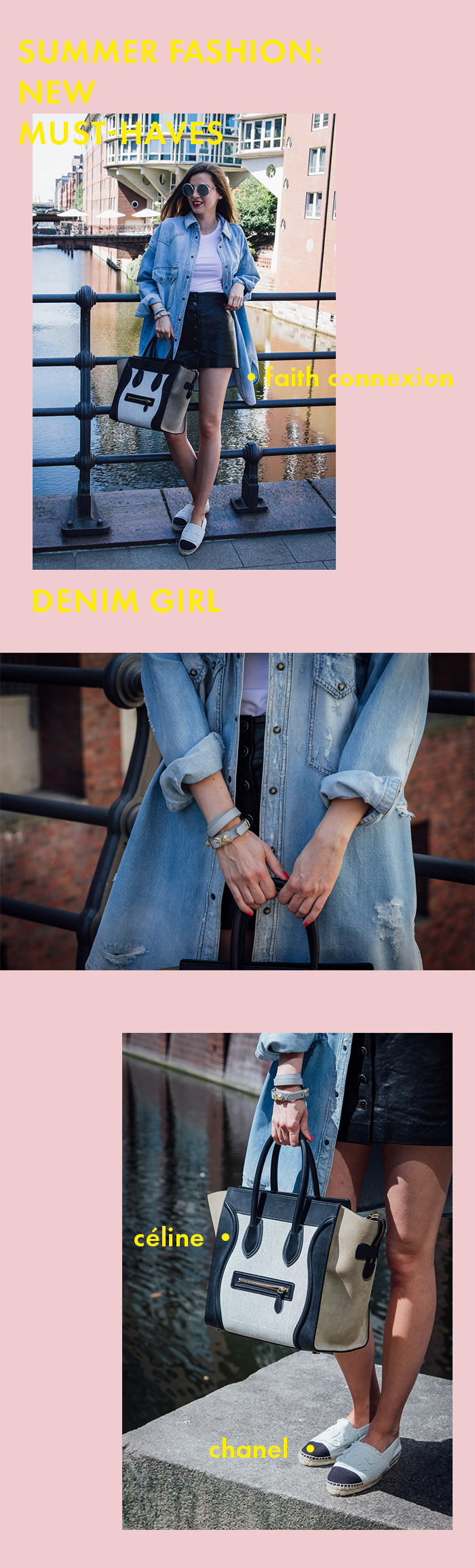 Summer Fashion 2018: Denim Girl