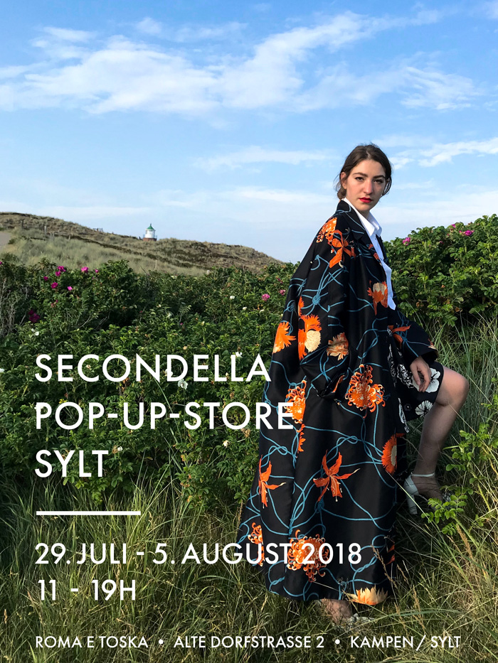 SECONDELLA Pop-Up-Store Sylt 2018