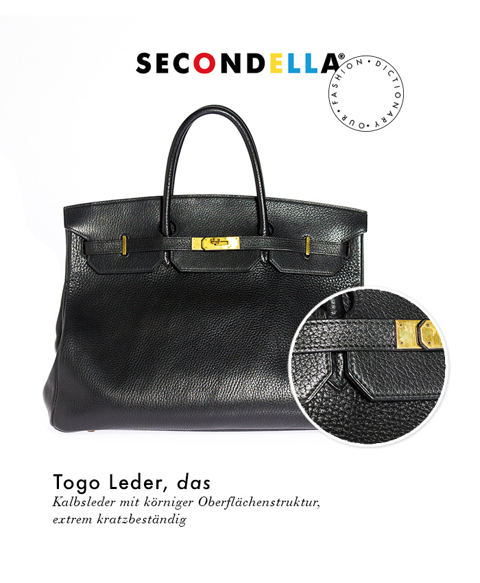 Fashion Dictionary: Togo Leder, Hermès