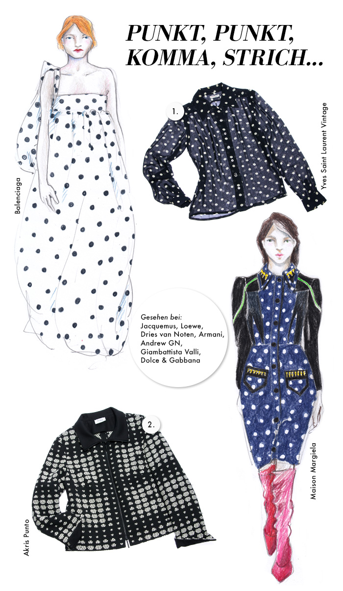 Trendwatch Autumn/Winter 2017 - Polka Dots