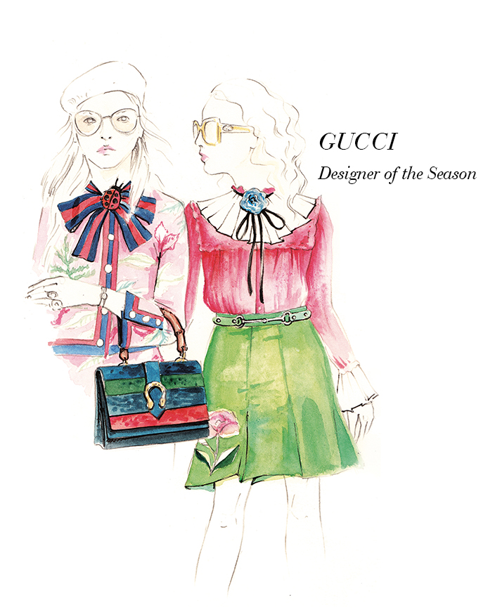 Trendwatch Gucci Spring/Summer 2016