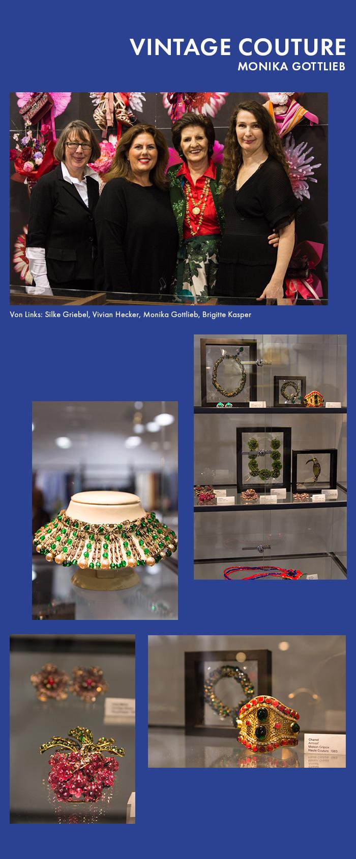 Monika Gottlieb: Vintage Couture Ausstellungs-Rückblick