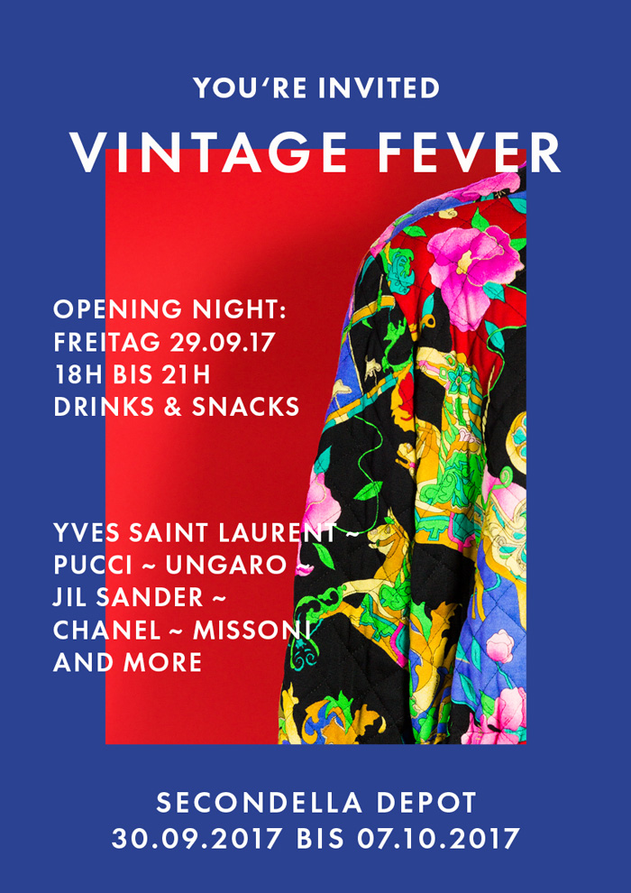 Vintage Fever - Vintage-Designer-Mode bei SECONDELLA