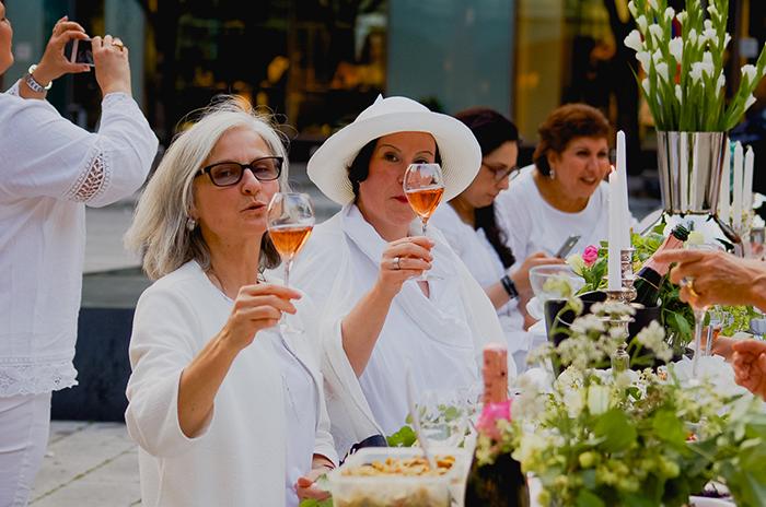 White Dinner 2015 - ABC Viertel Heuberg
