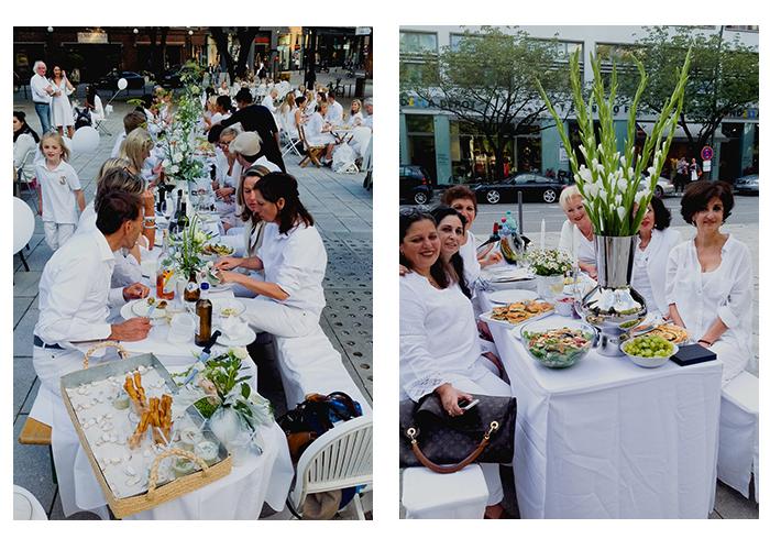 White Dinner Hamburg 2015 - ABC Viertel Heuberg