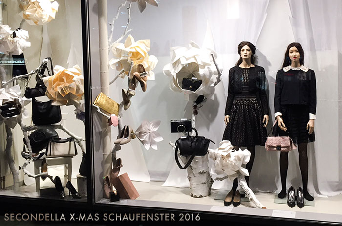 X-Mas Schaufenster 2016 - Secondella