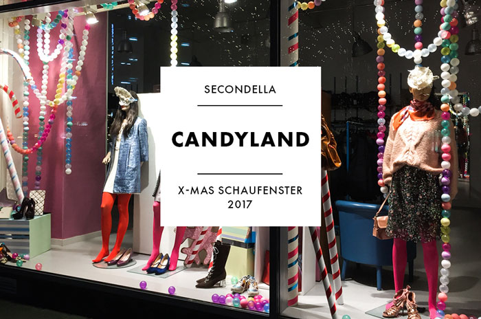 X-Mas Schaufenster 2017 - Secondella - Candyland