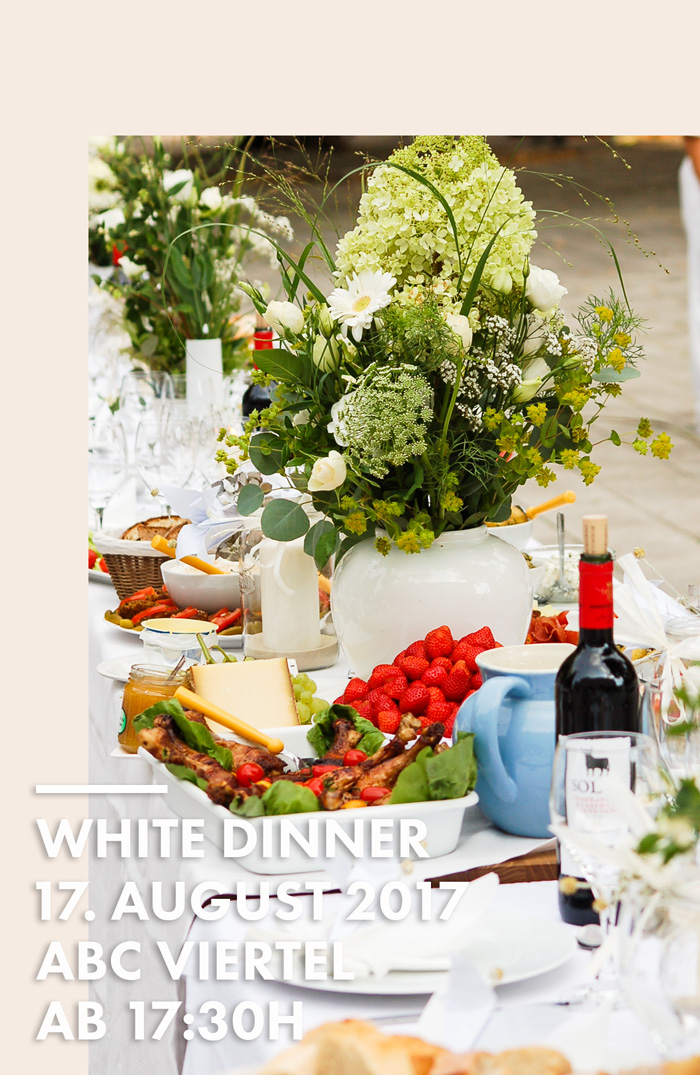 White Dinner 2017 Hamburg - ABC Viertel