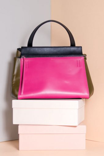 New Accessories -Céline Edge Bag pink - Second Hand