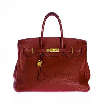 Hermès Birkin Bag - Clémence Leder, rot