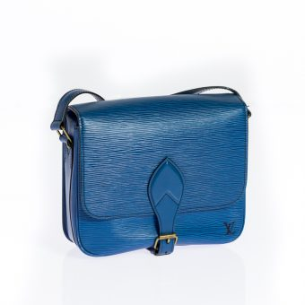 Louis Vuitton, Cartouchiere in blueberry - 195,-€ (656912)