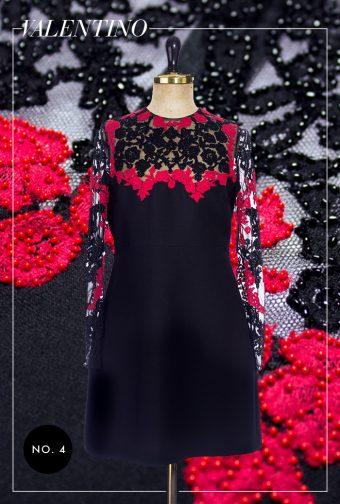 Valentino Kleid, perlenbestickt